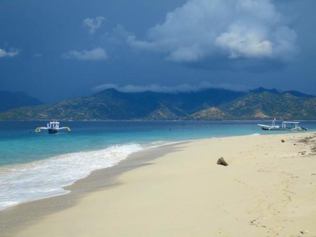 Gili Islands Bali Strand